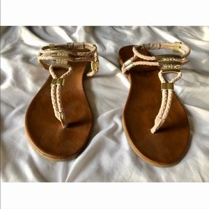 Madden Girl T-Strap Flats Sandals